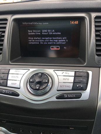 Nissan Connect Premium X9 Ver7 Европа Турция 2019 Infiniti GEND EU J.A