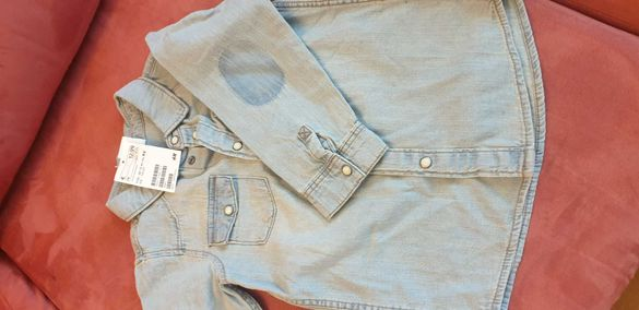 Дънкова риза за момче на H&M