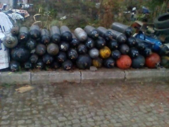 Промоция до края на месеца 58 бройки Метан бутилки от 19 до 60 литра