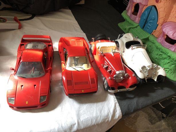 Masinute metalice , Mercedes, Alfa Romeo,Ferrari