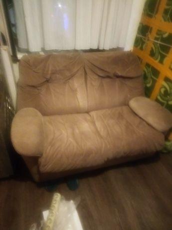 комплект  мягкой мебели 3+2+1+пуфик
