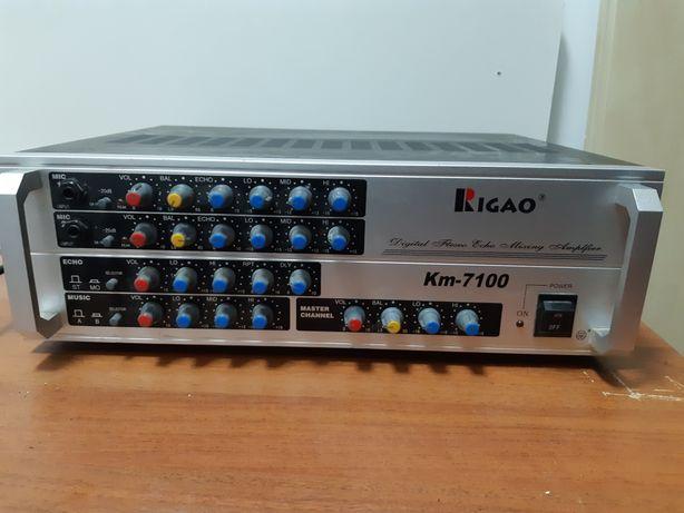 Продаю.усилитель RIGAO Km7100.торг, цена за все