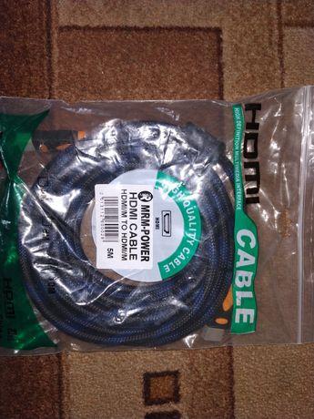 HDMI кабель 5 метров новый