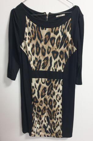 Rochie imprimeu leopard