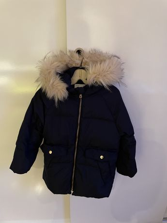 Детско яке зара Zara с гъши пух за дете 5-6 години