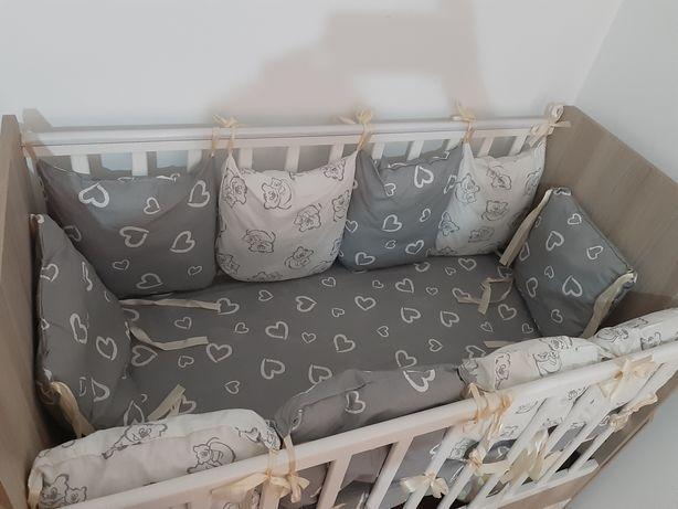 Детский манеж 2/1 +матрасы+10шт подушки