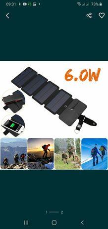 Продам солнечную раскладную панель для зарядки любых гаджетов в походе