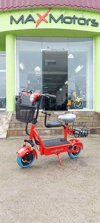Електрически Скутер MaXmotors Мини Дизайн 350W Мотор  Red