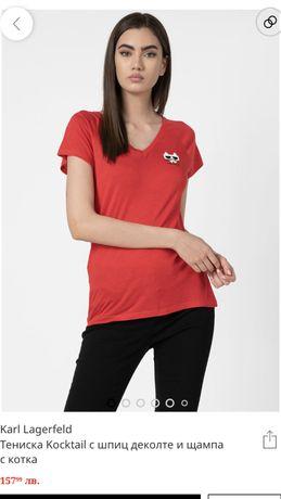 Оригинална тениска Karl Lagerfeld, размер М