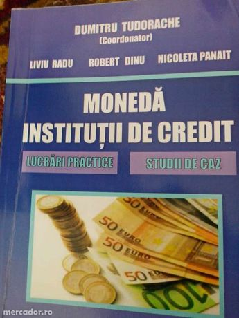moneda institutii de credit