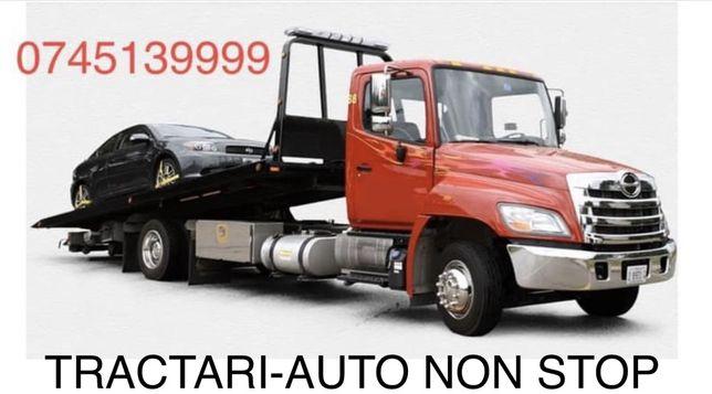 Tractari Auto NON STOP  Ieftin Rapid Sigur.