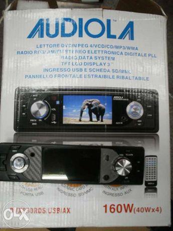 Dvd audiola , mp3, ecran 3 inch si intrare de card