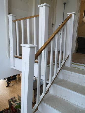 Balustrada lemn...