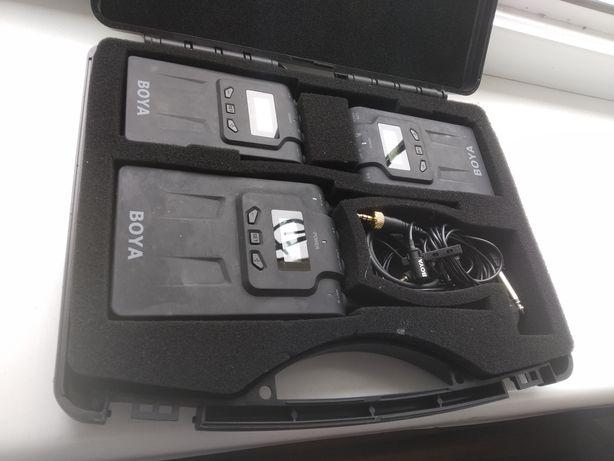 Комплект петличек, 2 микрофона для съёмок звука комплект кейс