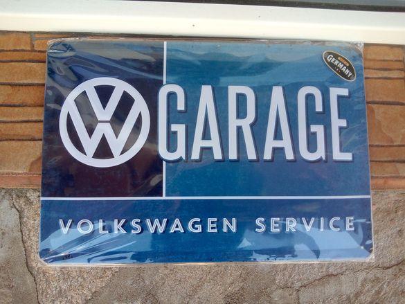 Табела метална VW GAREGE 30/20 см