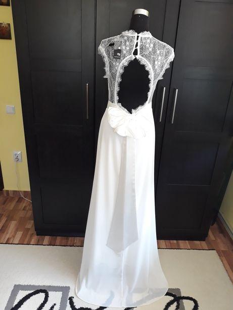 Rochie de ocazie/ mireasă /domnișoara de onoare / cu fundiță 40