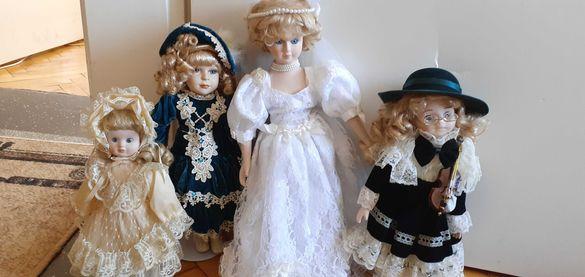 Нови порцеланови колекционерски  кукли,донесени от Англия