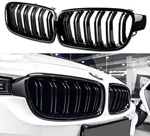 М-кови Бъбреци BMW F30 F31 Двойни M3 12-18 БМВ Черни Piano Black