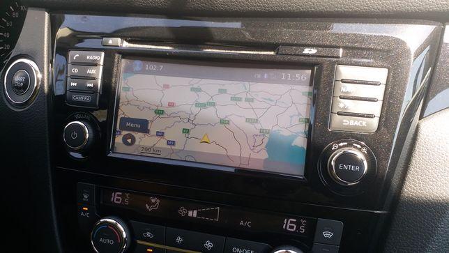 SD card navigație Nissan Qashqai