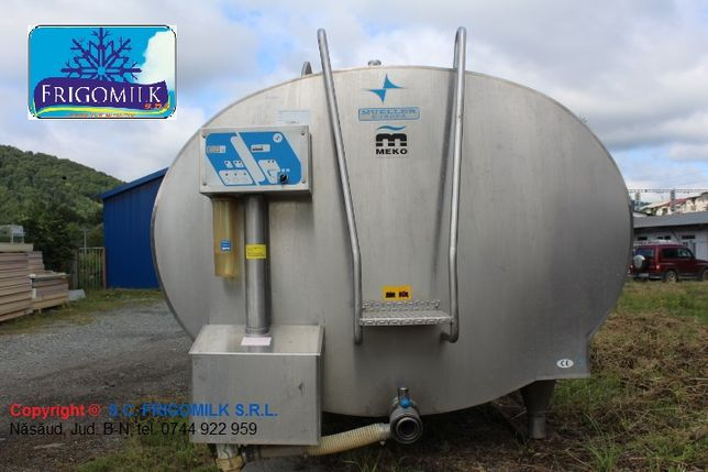 Montam tanc racire lapte 5000 litri Mueller model O eficienta 100%