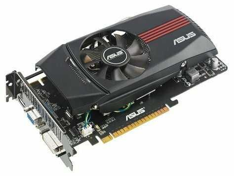 видеокарта Asus GTX560 1GB