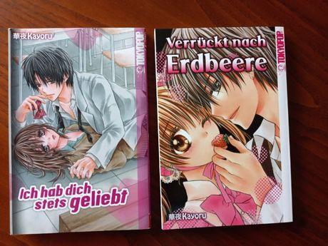 Ofer spre vânzare cărți manga