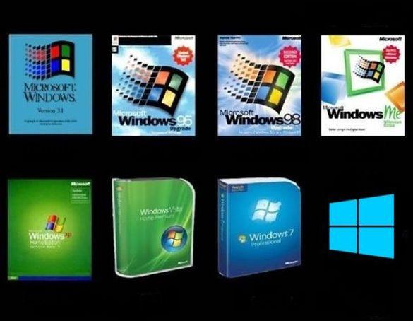 Ремонт на компютри, преинсталация на Windows