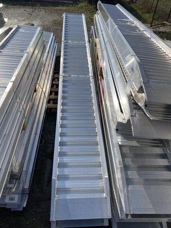 Rampe incarcare aluminiu 4m 5tone