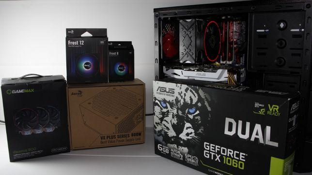 Игровой компьютер Intel® Core™ i7-3770/GTX 1060/RAM 24GB/SSD 240GB