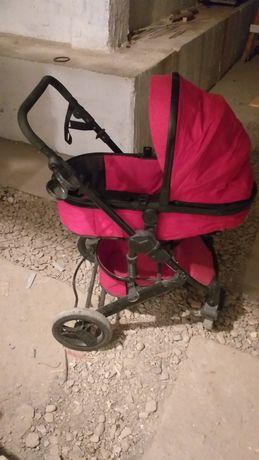 Детская коляска. Почти новая. 2 раза пользовались. Брали за 48 000 тг.