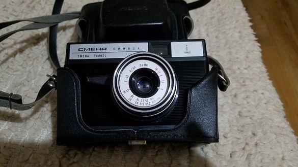 Руски ретро фотоапарат СМЕНА Ломо