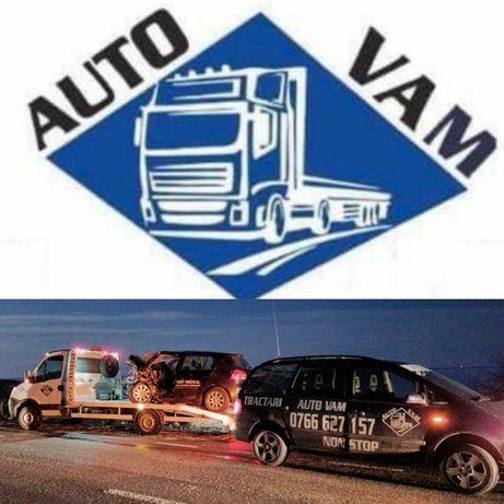 Tractari Teleorman Platforma Service Vulcanizare Non STOP Asistenta