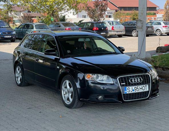 Audi A4 break, S-line