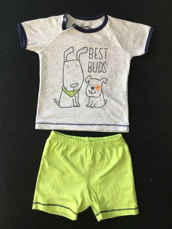 Детски комплект тениска и панталонки
