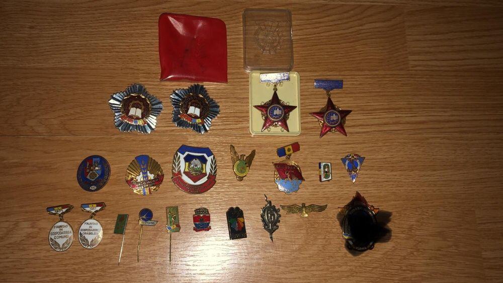Insigne comuniste,medalia comemorativa Brusturoasa - imagine 1
