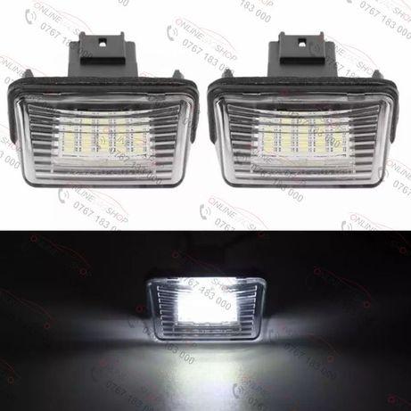 Set lampi LED numar CITROEN C3, C4, C5, C6,Picasso, Saxo, Xsara