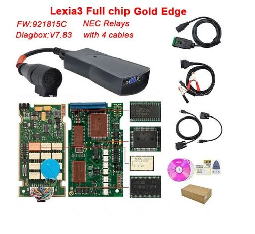 Tester diagnoza Lexia 3 Full Chip Peugeot si Citroen