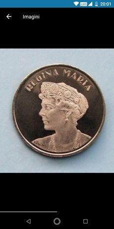 Moneda 50 bani Regina Maria