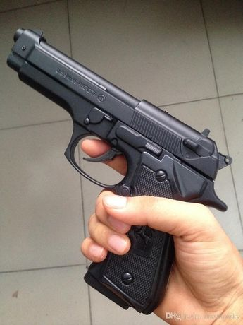 NEW MODEL-Beretta/Taurus Full Metal Airsoft Modificat (Mecanism) 4.2 J