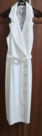 Продам 2 белых платья, коктейльное и др. платья