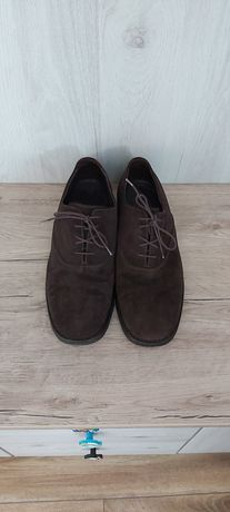 Pantofi barbatesti piele naturala intoarsa
