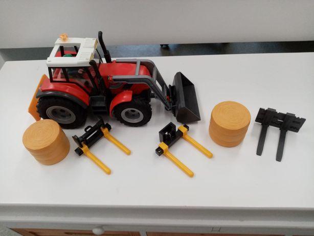 Playmobil tractor . Country Farm. Cu instructiuni.80 ron