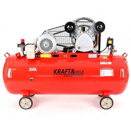 Compresor cu ulei 300L 400V cu separator KD1410