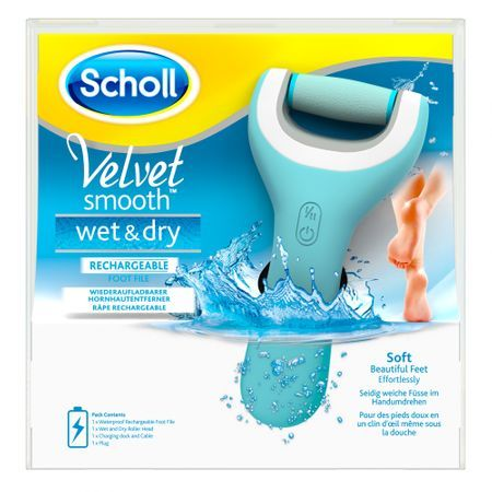 Пила за пети scholl, Scholl velvet smooth wet