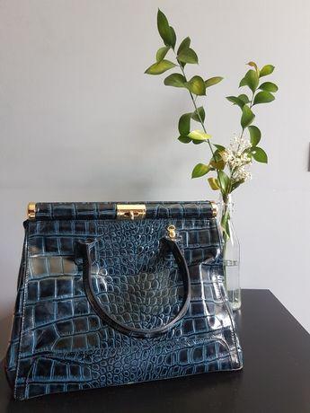 Итальянская сумка из крокодиловой кожи Pelle Li Giada