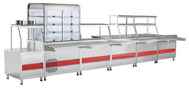 Продается линия раздачи и хлебопекарная печь