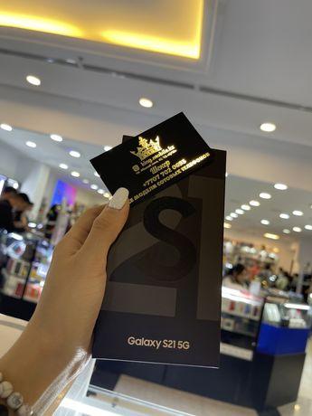 Смартфон Samsung S 21 128 black