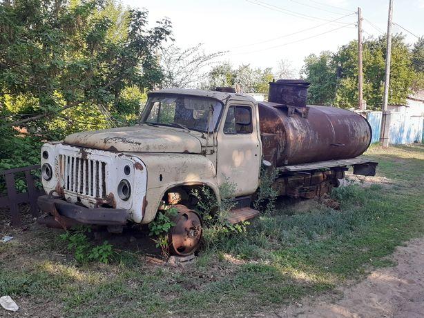 Бензовоз газ-53.