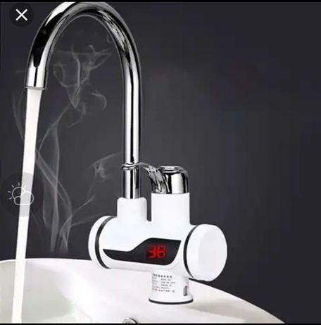 Кран с подогревом воды электрокран бойлер