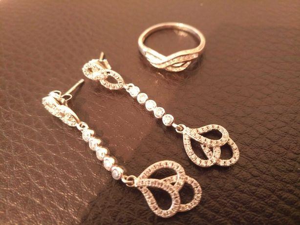 Cercei și inele din argint